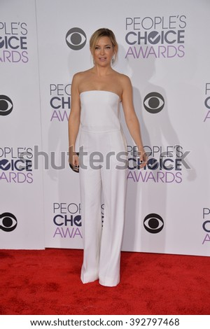 LOS ANGELES, CA - JANUARY 6, 2016: Kate Hudson at the People's Choice Awards 2016 at the Microsoft Theatre LA Live. - stock photo