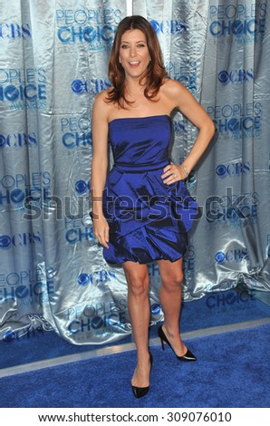 LOS ANGELES, CA - JANUARY 5, 2011: Kate Walsh at the 2011 Peoples' Choice Awards at the Nokia Theatre L.A. Live in downtown Los Angeles.  - stock photo
