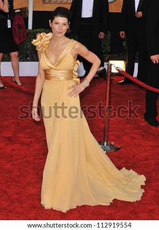 LOS ANGELES, CA - JANUARY 25, 2009: Marisa Tomei at the 15th Annual Screen Actors Guild Awards at the Shrine Auditorium, Los Angeles.
