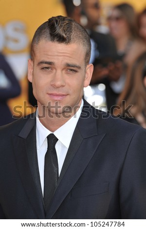LOS ANGELES, CA - JANUARY 29, 2012: Mark Salling at the 17th Annual Screen Actors Guild Awards at the Shrine Auditorium, Los Angeles. January 29, 2012  Los Angeles, CA