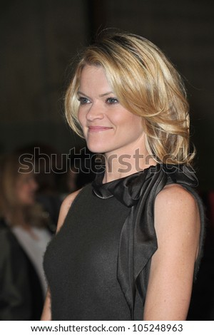 LOS ANGELES, CA - JANUARY 31, 2012: Missi Pyle at Red Studios in Hollywood where the cast of The Artist were presented with the inaugural Made in Hollywood award. January 31, 2012  Los Angeles, CA