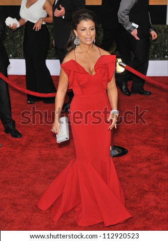 LOS ANGELES, CA - JANUARY 25, 2009: Paula Abdul at the 15th Annual Screen Actors Guild Awards at the Shrine Auditorium, Los Angeles.