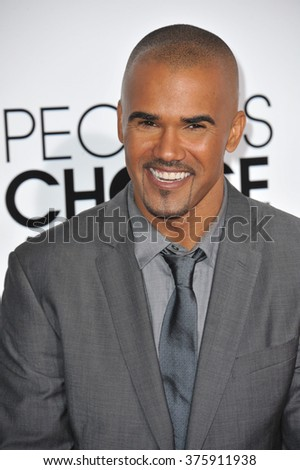 LOS ANGELES, CA - JANUARY 8, 2014: Shemar Moore at the 2014 People's Choice Awards at the Nokia Theatre, LA Live.