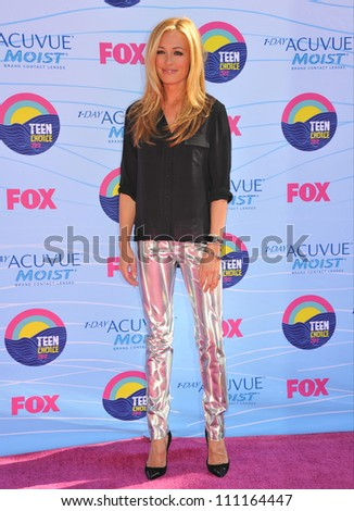 LOS ANGELES, CA - JULY 23, 2012: Cat Deeley at the 2012 Teen Choice Awards at the Gibson Amphitheatre, Universal City.