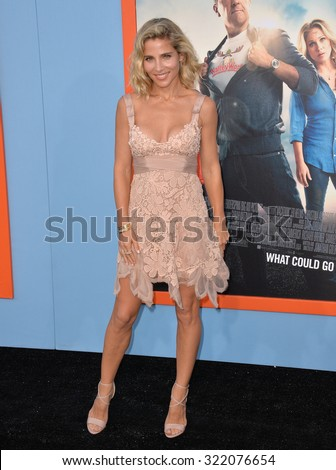 "LOS ANGELES, CA - JULY 27, 2015: Elsa Pataky at the premiere of ""Vacation"" at the Regency Village Theatre, Westwood.