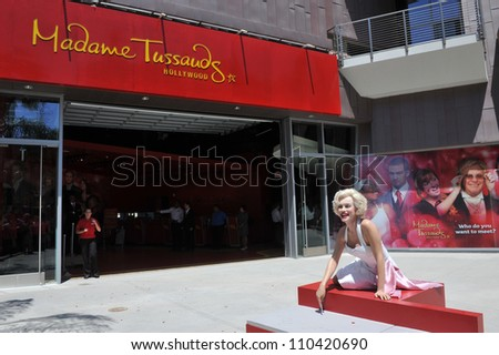 LOS ANGELES, CA - JULY 21, 2009:  - grand opening of Madame Tussauds Hollywood. - stock photo