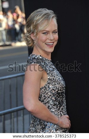 "LOS ANGELES, CA - JULY 23, 2014: Ingrid Bolso Berdal at the premiere of her movie  ""Hercules"" at the TCL Chinese Theatre, Hollywood."