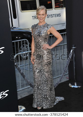 """LOS ANGELES, CA - JULY 23, 2014: Ingrid Bolso Berdal at the premiere of her movie  """"Hercules"""" at the TCL Chinese Theatre, Hollywood. - stock photo"""