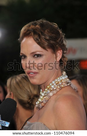 "LOS ANGELES, CA - JULY 16, 2009: Katherine Heigl at the premiere of her new movie ""The Ugly Truth"" at the Cinerama Dome, Hollywood."