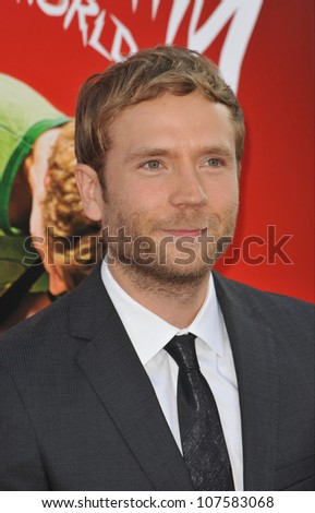 """LOS ANGELES, CA - JULY 27, 2010: Mark Webber at the world premiere of his new movie """"Scott Pilgrim vs. The World"""" at Grauman's Chinese Theatre, Hollywood. - stock photo"""