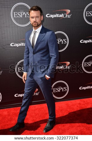 LOS ANGELES, CA - JULY 15, 2015: Shane West at the 2015 ESPY Awards at the Microsoft Theatre LA Live.