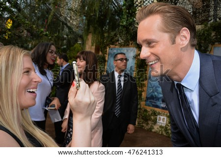"LOS ANGELES, CA. June 27, 2016: Actor Alexander Skarsgard at the world premiere of ""The Legend of Tarzan"" at the Dolby Theatre, Hollywood."