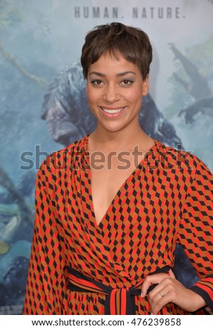 "LOS ANGELES, CA. June 27, 2016: Actress Cush Jumbo at the world premiere of ""The Legend of Tarzan"" at the Dolby Theatre, Hollywood."