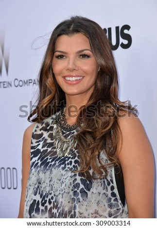 "LOS ANGELES, CA - JUNE 22, 2015: Ali Landry at the Los Angeles premiere of ""Escobar: Paradise Lost"" at the Arclight Theatre, Hollywood.   - stock photo"
