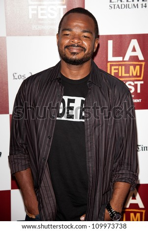 LOS ANGELES, CA - JUNE 20: F. Gary Gray arrives at the Los Angeles Film Festival premiere of 'Middle of Nowhere' at Regal Cinemas L.A. LIVE 1 on June 20, 2012 in Los Angeles, California.