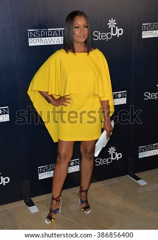 LOS ANGELES, CA - JUNE 5, 2015: Garcelle Beauvais at the Step Up Women's Network 12th Annual Inspiration Awards at the Beverly Hilton Hotel.