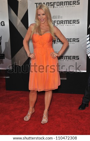 "LOS ANGELES, CA - JUNE 22, 2009: Gena Lee Nolin at the Los Angeles premiere of ""Transformers: Revenge of the Fallen"" at the Mann Village Theatre, Westwood."