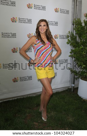 LOS ANGELES, CA - JUNE 3: Heather McDonald at the 23rd Annual 'A Time for Heroes' Celebrity Picnic Benefitting the Elizabeth Glaser Pediatric AIDS Foundation on June 3, 2012 in Los Angeles, California