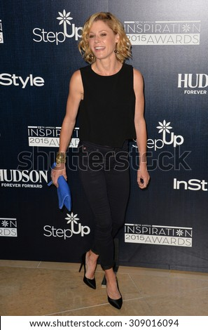LOS ANGELES, CA - JUNE 5, 2015: Julie Bowen at the Step Up Women's Network 12th Annual Inspiration Awards at the Beverly Hilton Hotel..