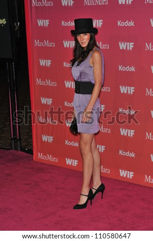LOS ANGELES, CA - JUNE 12, 2009: Lynn Collins at the Women in Film 2009 Crystal + Lucy Awards at the Hyatt Regency Century Plaza Hotel, Century City