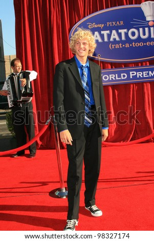 LOS ANGELES, CA - JUNE 22: Michael Petersen at the world premiere of 'Ratatouille' at the Kodak Theater in on June 22, 2007 in Los Angeles, California