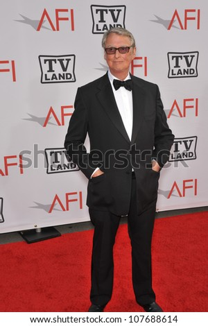 LOS ANGELES, CA - JUNE 10, 2010: Mike Nichols at the 2010 AFI Life achievement Award Gala, honoring director Mike Nichols, at Sony Studios, Culver City, CA. - stock photo