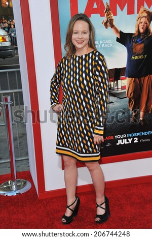 "LOS ANGELES, CA - JUNE 30, 2014: Thora Birch at the premiere of ""Tammy"" at the TCL Chinese Theatre, Hollywood.  - stock photo"