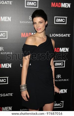 LOS ANGELES, CA - MAR 14: Jessica Pare at AMC's special screening of 'Mad Men' season 5 held at ArcLight Cinemas Cinerama Dome on March 14, 2012 in Los Angeles, California