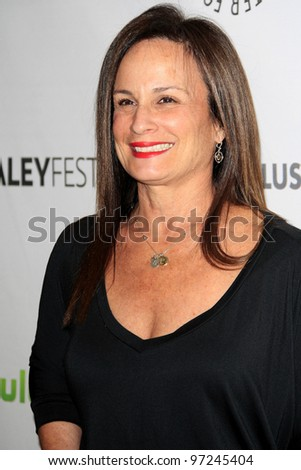 LOS ANGELES, CA - MAR 9: Laurie Zaks at The Paley Center For Media's PaleyFest 2012 honoring 'Castle' at the Saban Theater on March 9, 2012 in Beverly Hills, California