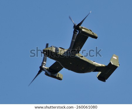 los angeles ca march 12 2015 bell boeing v 22 ospey