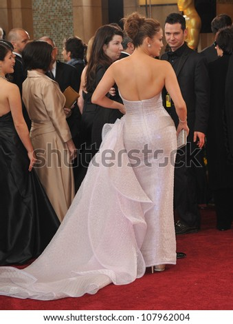 LOS ANGELES, CA - MARCH 7, 2010: Jennifer Lopez at the 82nd Annual Academy Awards at the Kodak Theatre, Hollywood. - stock photo