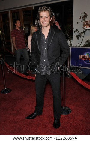 "LOS ANGELES, CA - MARCH 12, 2009: Jeremy Sumpter at the world premiere of ""Fast & Furious"" at the Gibson Amphitheatre, Universal Studios, Hollywood."