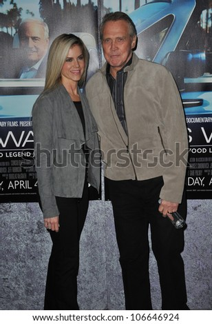 "LOS ANGELES, CA - MARCH 22, 2011: Lee Majors & wife Faith at the premiere of ""His Way"", about  Jerry Weintraub at Paramount Studios, Hollywood. March 22, 2011  Los Angeles, CA"