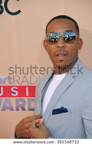 LOS ANGELES, CA - MARCH 29, 2015: Ludacris at the 2015 iHeart Radio Music Awards at the Shrine Auditorium.