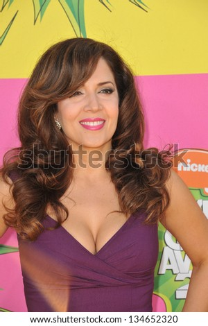 LOS ANGELES, CA - MARCH 23, 2013: Maria Canals-Barrera at Nickelodeon's 26th Annual Kids' Choice Awards at the Galen Centre, Los Angeles.