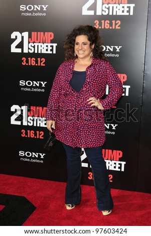 LOS ANGELES, CA - MARCH 13:  Marissa Jaret Winokur at the premiere of Columbia Pictures '21 Jump Street' held at Grauman's Chinese Theater on March 13, 2012 in Los Angeles, California