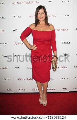 LOS ANGELES, CA - NOV 14:  Marcia Gay Harden at  the premiere of 'Anna Karenina' at ArcLight Hollywood on November 14, 2012 in Los Angeles, California.