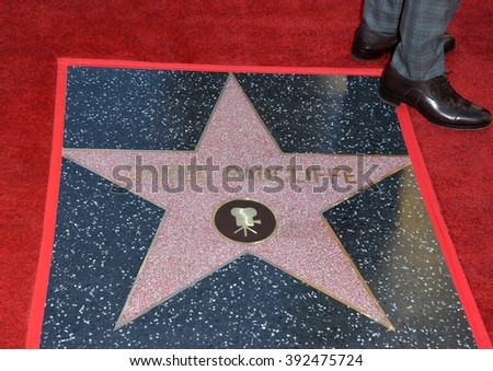 LOS ANGELES, CA - NOVEMBER 12, 2015: Actor Daniel Radcliffe's star on the Hollywood Walk of Fame - stock photo