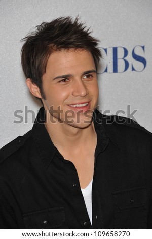 LOS ANGELES, CA - NOVEMBER 10, 2009: American Idol season 8 winner Kris Allen at the nominations announcement for the 2010 People's Choice Awards at the SLS Hotel, Beverly Hills.