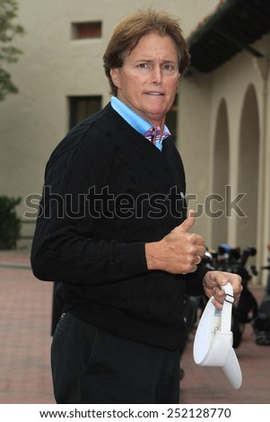 LOS ANGELES, CA - NOVEMBER 05: Bruce Jenner at the Callaway Golf Foundation Challenge at the Riviera Country Club in Los Angeles, California on November 5, 2007 - stock photo