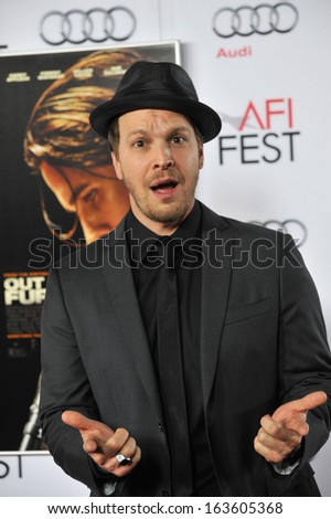 "LOS ANGELES, CA - NOVEMBER 9, 2013: Gavin DeGraw at the Los Angeles premiere of ""Out of the Furnace"", part of the AFI Fest 2013, at the TCL Chinese Theatre, Hollywood."