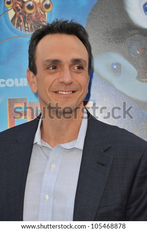"LOS ANGELES, CA - NOVEMBER 13, 2011: Hank Azaria at the world premiere of his new movie ""Happy Feet Two"" at Grauman's Chinese Theatre, Hollywood. November 13, 2011  Los Angeles, CA"