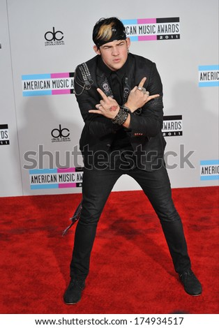LOS ANGELES, CA - NOVEMBER 20, 2011: James Durbin at the 2011 American Music Awards at the Nokia Theatre L.A. Live in downtown Los Angeles.