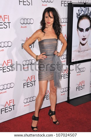 "LOS ANGELES, CA - NOVEMBER 11, 2010: Juliette Lewis at the Los Angeles premiere of ""Black Swan"" at Grauman's Chinese Theatre, Hollywood."