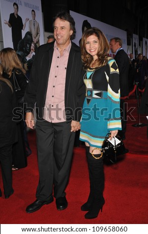 """LOS ANGELES, CA - NOVEMBER 9, 2009: Kevin Nealon & date at the world premiere of Walt Disney's """"Old Dogs"""" at the El Capitan Theatre, Hollywood. - stock photo"""