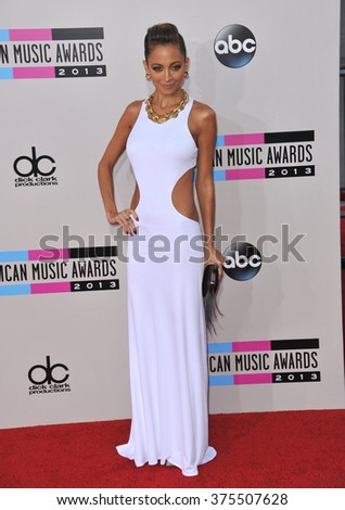 LOS ANGELES, CA - NOVEMBER 24, 2013: Nicole Ritchie at the 2013 American Music Awards at the Nokia Theatre, LA Live.  - stock photo