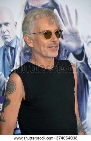 "LOS ANGELES, CA - OCTOBER 26, 2015: Billy Bob Thornton at the Los Angeles premiere of his movie ""Our Brand is Crisis"" at the TCL Chinese Theatre, Hollywood.