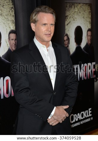 "LOS ANGELES, CA - OCTOBER 29, 2015: Cary Elwes at the Los Angeles premiere for Crackle's ""The Art of More"" at Sony Pictures Studios, Culver City."