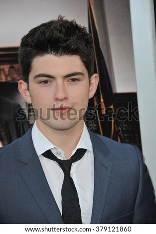 "LOS ANGELES, CA - OCTOBER 1, 2014: Ian Nelson at the Los Angeles premiere of ""The Judge"" at the Samuel Goldwyn Theatre, Beverly Hills."