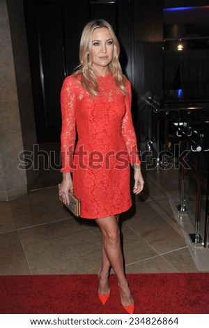 LOS ANGELES, CA - OCTOBER 28, 2014: Kate Hudson at the 25th Courage in Journalism Awards at the Beverly Hilton Hotel.  - stock photo